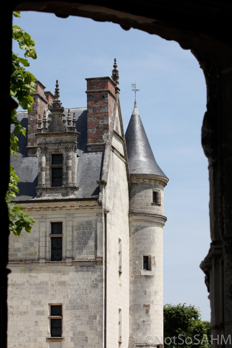 Chateau d'Amboise Not So SAHM
