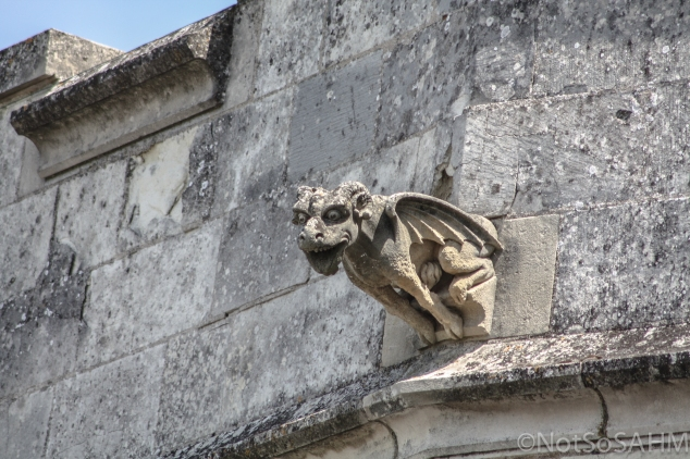 Amboise Castle Gargoyle Not So SAHM