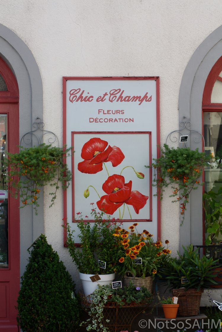 Florist in Amboise, France Not So SAHM