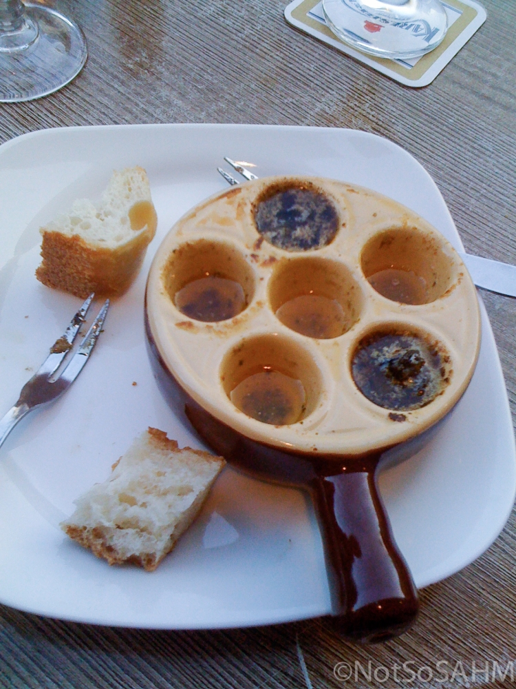 Escargot in Amboise, France Not So SAHM