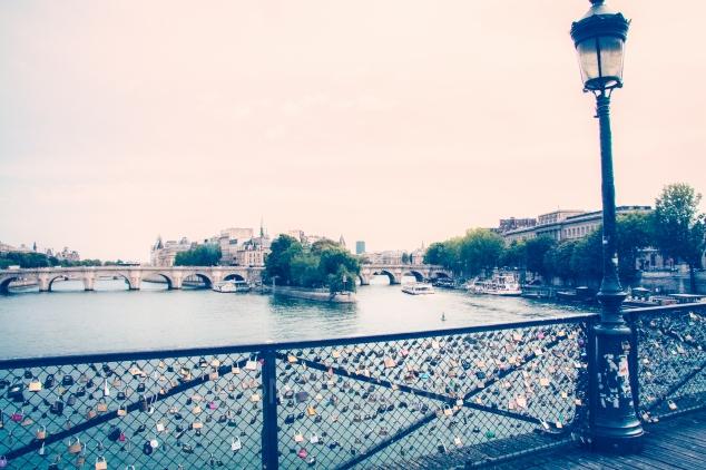 Pont des Arts looking toward Ile de la Cite