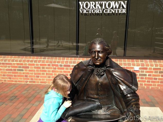 Reading the Declaration of Independence with General Washington Not so SAHM