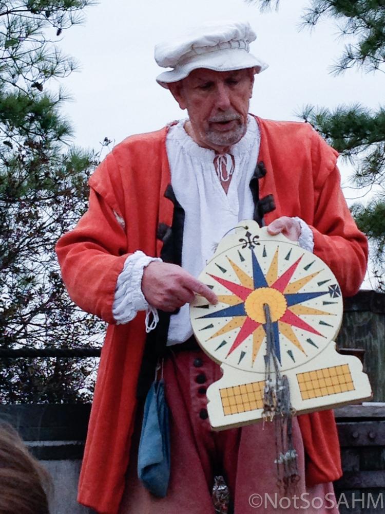 Using a Traverse Board at Jamestown Settlement Not So SAHM