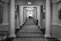 Hallway of The Carolina at Pinehurst Not So SAHM