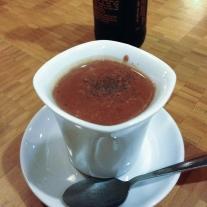 LIquid truffle at French Broad Chocolate Lounge