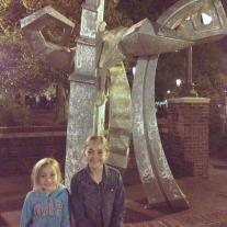 statue in Asheville