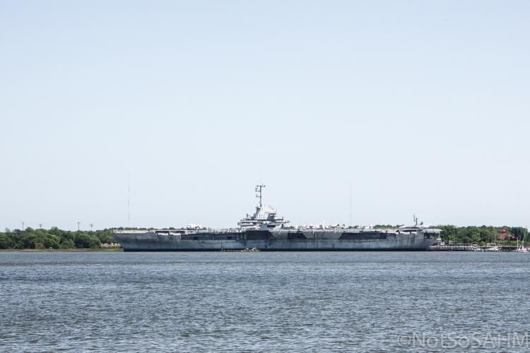 USS Yorktown - Charleston
