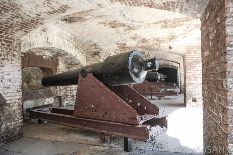 cannon at Ft Sumter