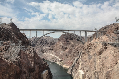 Bridge over Hoover Dam