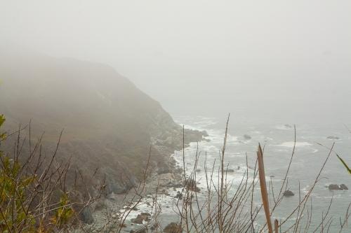 Coastal Range on the Pacific