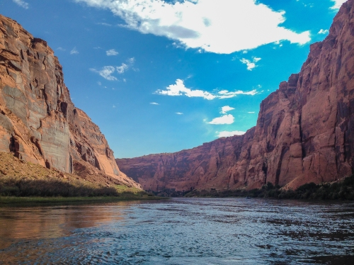 Glen Canyon river cruise