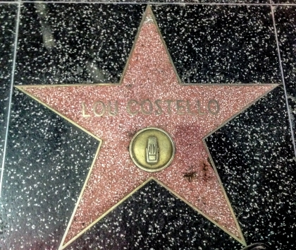 Lou Costello Star