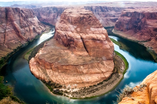 Horseshoe Bend from above