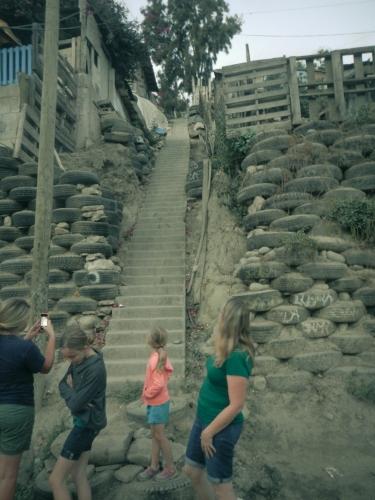 Climb the stairs to go buy fresh water in Tijuana dump town  Not So SAHM