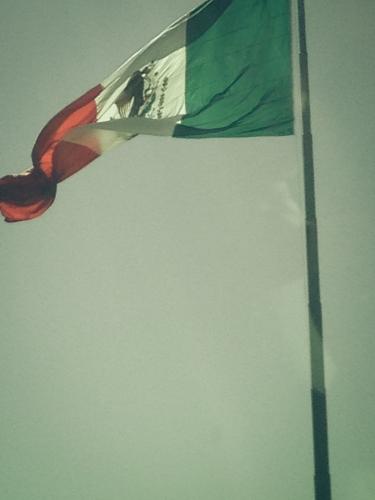 Mexican Flag at border Tijuana, Mexico  Not So SAHM