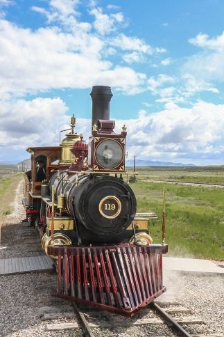 119 and Jupiter meet at Golden Spike Monument Not So SAHM