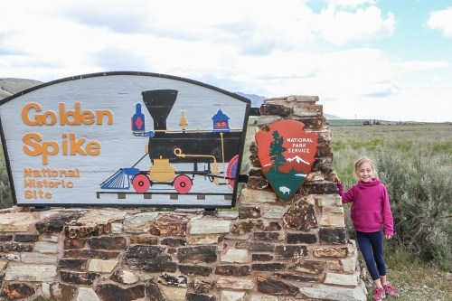 Golden Spike National Historic Site Not So SAHM