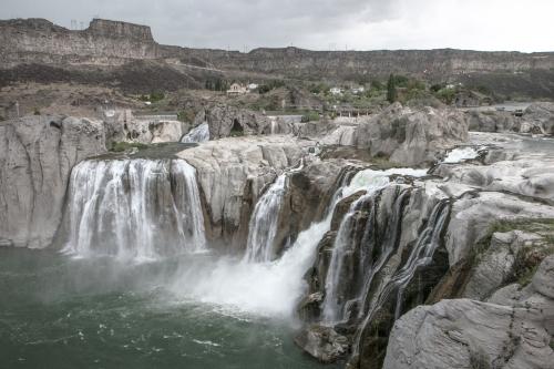 Shoshone Falls near Twin Falls Idaho Not So SAHM