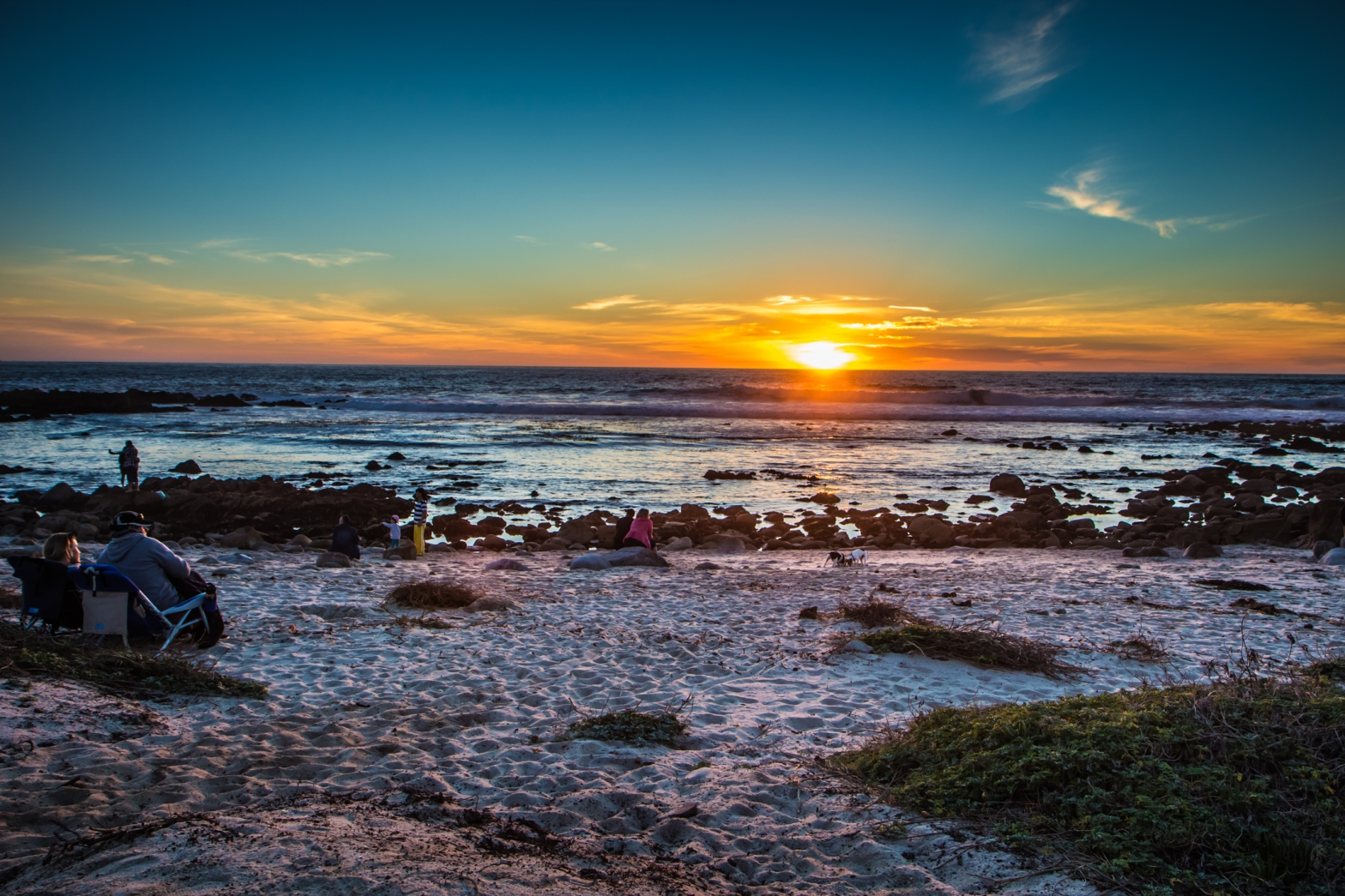 Sunset at Pacific Grove, California Not So SAHM