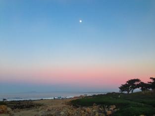 Beach Sunset at Asilomar/Pacific Grove California Not So SAHM