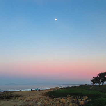 Beach Sunset at Asilomar/Pacific Grove California Not So SAHM