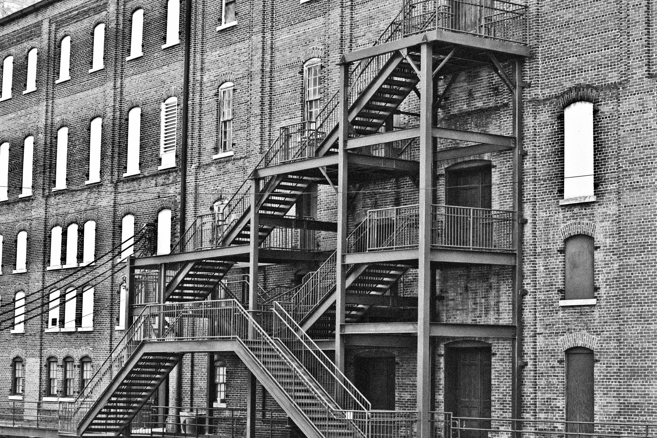 Great lines of a brick building NotSoSAHM