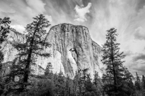 There's a heart shaped formation in El Capitan in Yosemite National Park NotSoSAHM