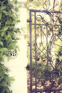 Charleston has beautiful gates. NotSoSAHM