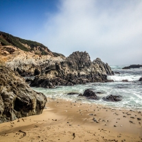 The rugged landscape of the pacific coast along the pacific coast highway NotSoSAHM