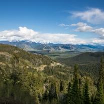 Beautiful green valley in Wyoming looking towards Jackson Hole NotSoSAHM
