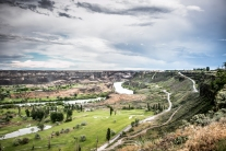 The Snake River meanders through beautiful scenery and under Perrine Bridge in Twin Falls, ID NotSoSAHM