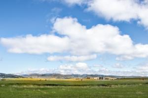 Big clouds fill the big sky of Montana NotSoSAHM