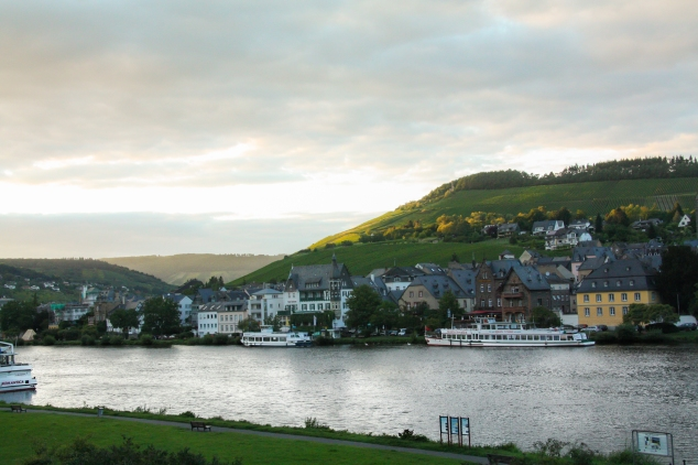 Traben-Trarbach is an idyllic German town nestled along the Moselle River. Not So SAHM