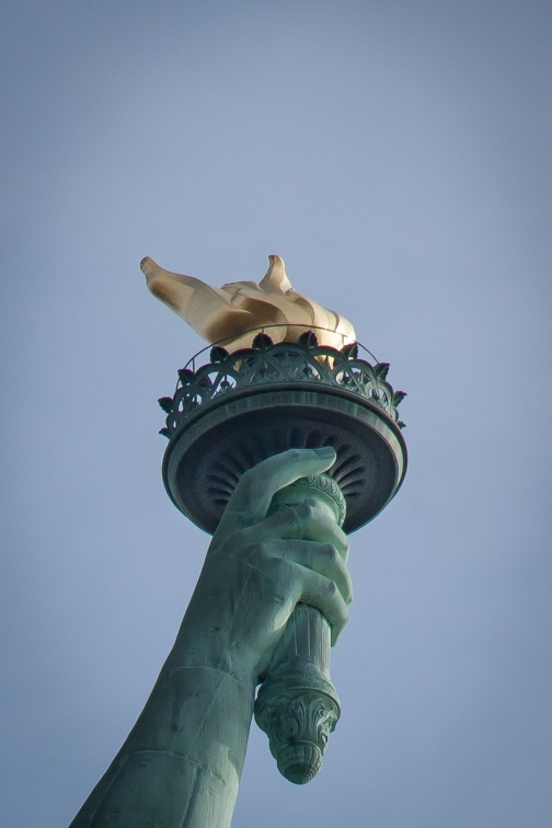 The Statue of Liberty's Torch. Not So SAHM
