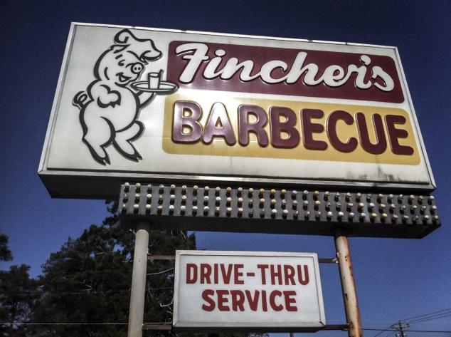 Fincher's Barbecue in Warner Robins, Georgia. Not So SAHM